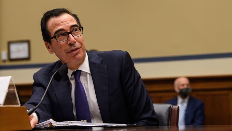 Treasury Secretary Mnuchin Testifies At House Hearing On Coronavirus