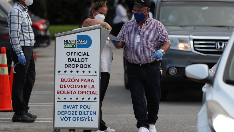 Florida Primary Ballots Are Tabulated At Miami-Dade Election Headquarters
