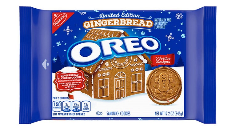 oreo gingerbread cookies