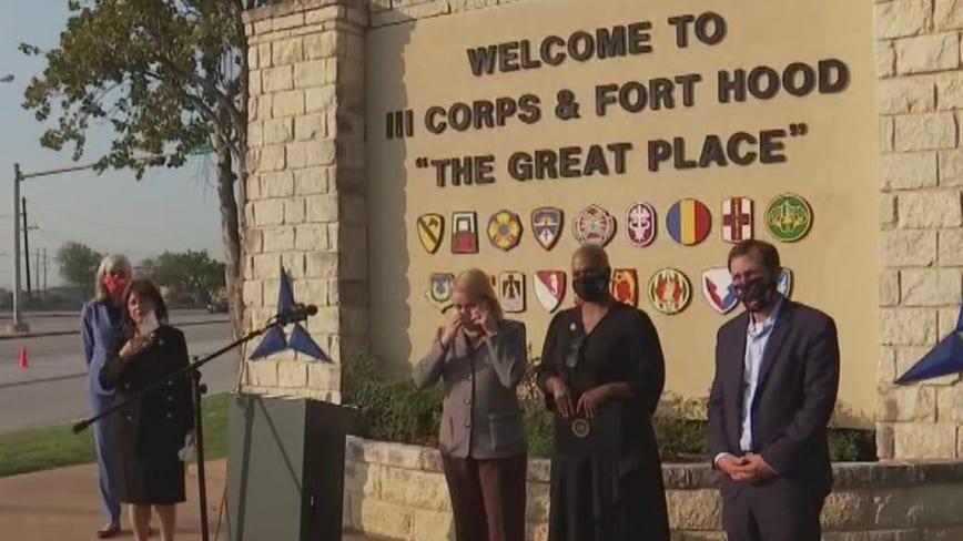 Congressional delegation holds press conference at Fort Hood