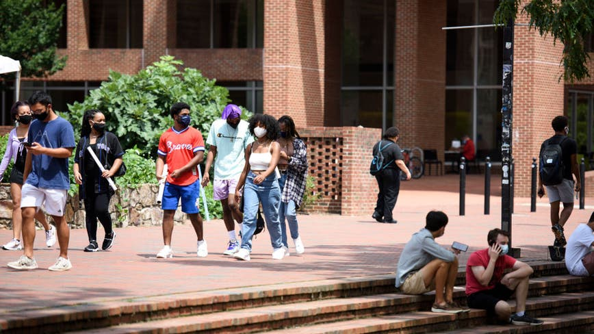 CDC reports COVID-19 clusters at UNC campus during first weeks of reopening