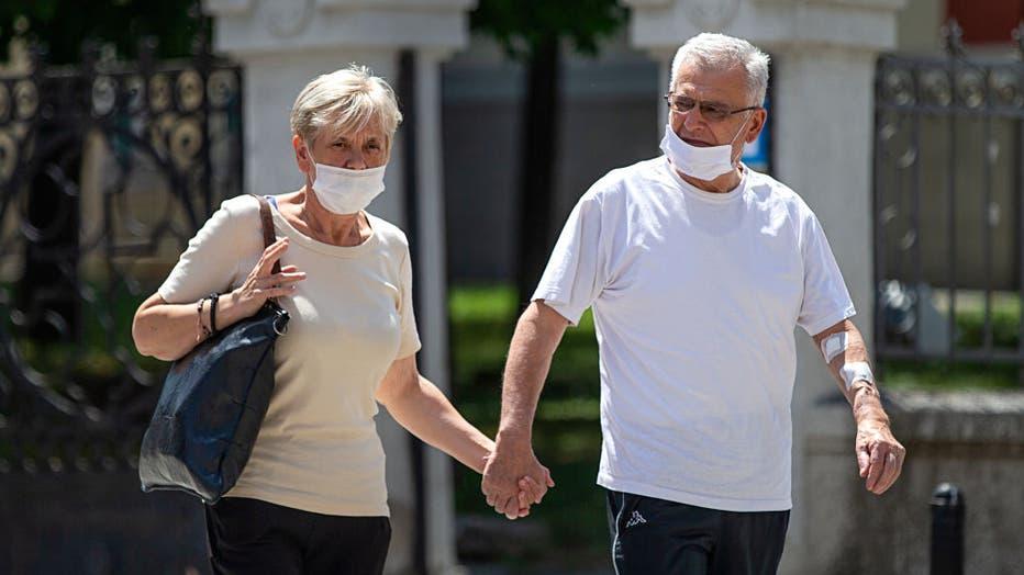 New Coronavirus Case Spike In Serbia