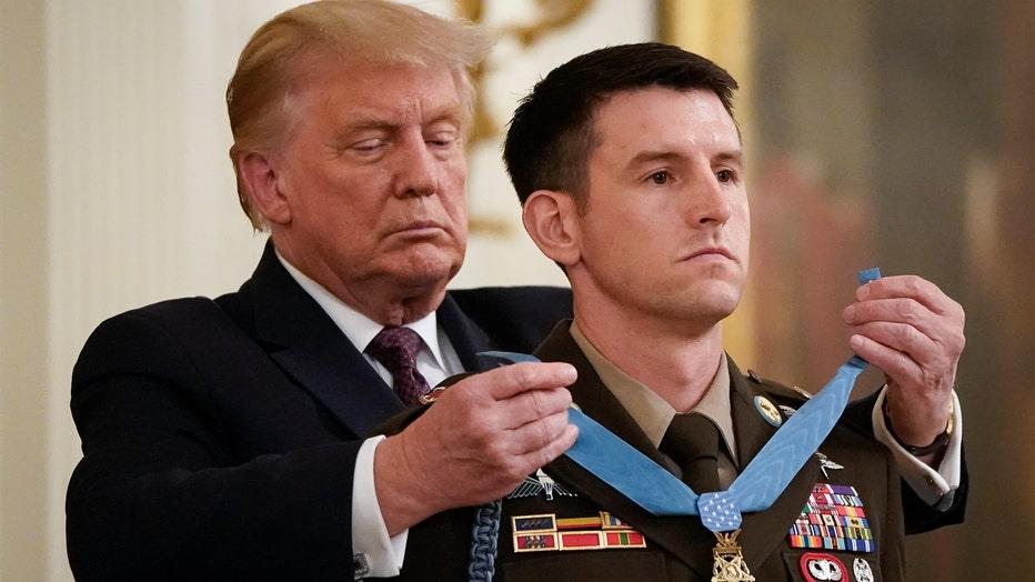 U.S. Army Sergeant Major Thomas Payne Awarded Medal Of Honor