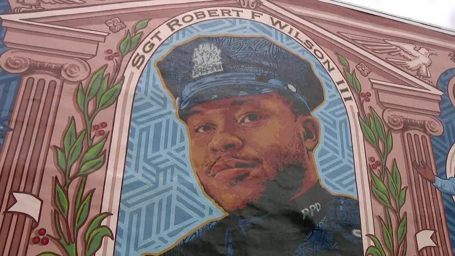 Sgt. Robert Wilson Mural