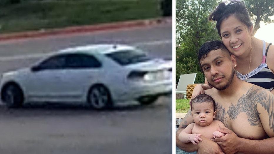 credit union shooting suspect vehicle