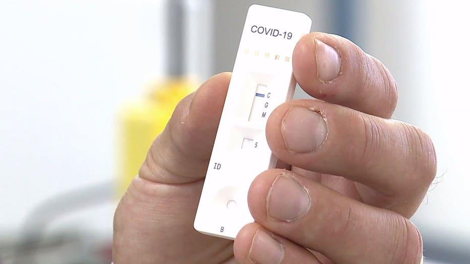 COVID-19 antibody test by Novir