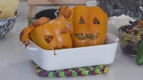 Jack-o-Lantern stuffed peppers recipe from FOX 7 Austin's Tierra Neubaum