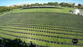 20,000 chairs placed outside White House to honor Americans killed by COVID-19