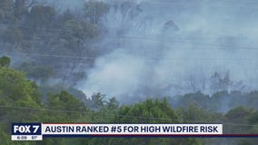 FOX 7 Discussion: Austin ranked #5 for high wildfire risk