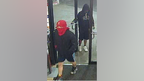 APD searching for three suspects involved in aggravated robbery