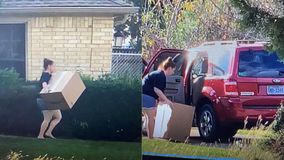 Porch pirate stole package in South Leander, says Leander PD