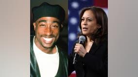 Trump campaign leaves ticket for Tupac at VP debate after Kamala Harris named him 'best rapper alive'
