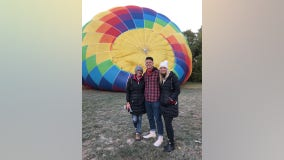 Minnesota family survives wild hot air balloon ride
