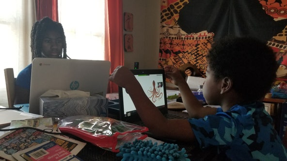 'It's a challenge to maintain our empathy:' Parents struggle with online learning at home