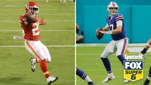Chiefs-Bills square off on Fox NFL Monday
