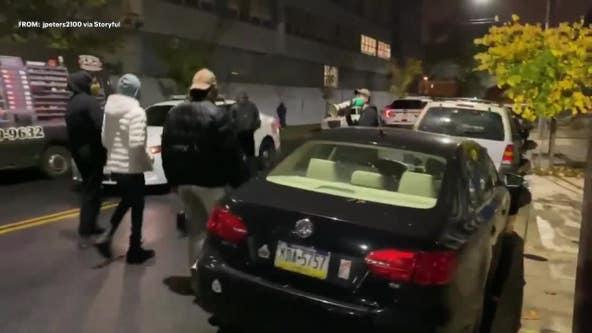 30 officers injured, dozens arrested after deadly police shooting sparks unrest across Philadelphia