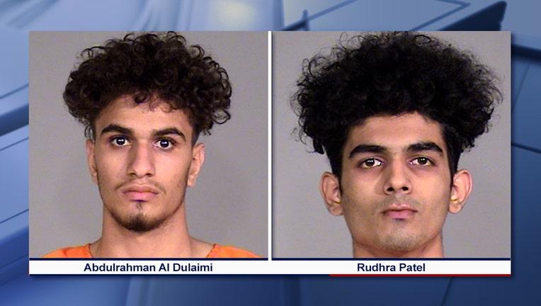 Rudhra Ronakkumar Patel and Abdulrahman Qays Al Dulaimi