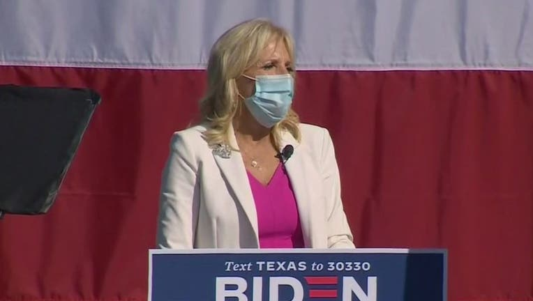 jill biden dallas rally