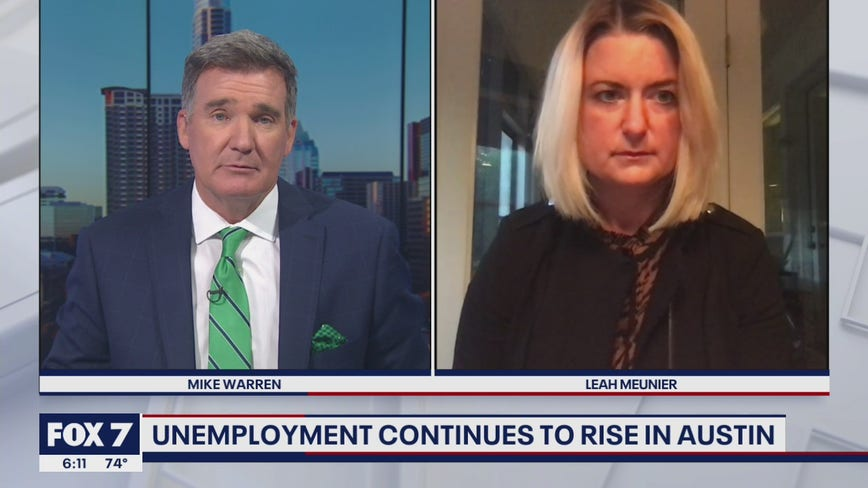 FOX 7 Discussion: Unemployment continues to rise in Austin