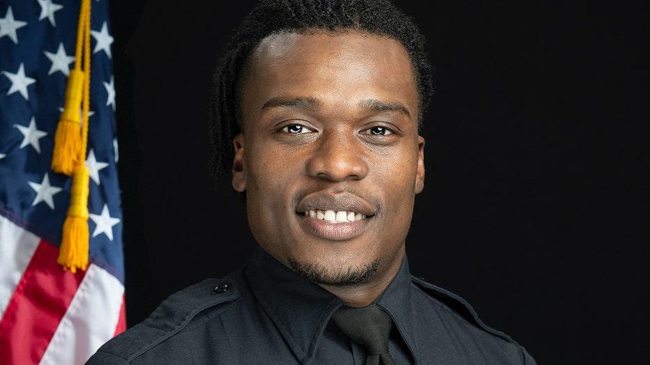 Wauwatosa Police Officer Joseph Mensah