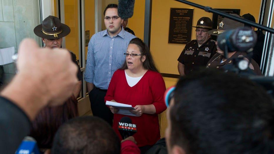 Kentucky County Clerk Kim Davis Returns To Work