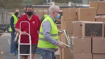 Central Texas Food Bank holds last major food distribution before Thanksgiving