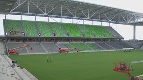 Construction right on schedule for Austin FC stadium