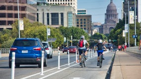 City finishes adding bike lanes to Congress Avenue through downtown