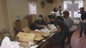 Community advocates serve 100 meal packages, services