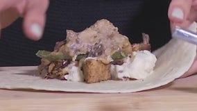 Thanksgiving leftover crunch wrap recipe from FOX 7 Austin's Tierra Neubaum