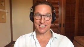 Matthew McConaughey talks about new book, Texas Book Festival