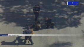Driver taken into custody after wild pursuit through SoCal, children found inside vehicle