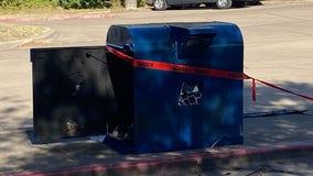AFD investigating after fire started inside USPS mailbox