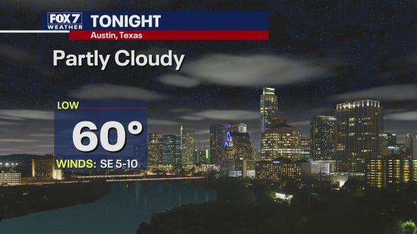 Evening weather forecast for November 23, 2020