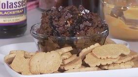 Healthy gingerbread cookie dough dip from FOX 7 Austin's Tierra Neubam