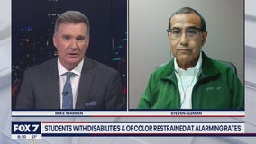 FOX 7 Discussion: Students with disabilities, of color restrained at alarming rates