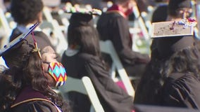 Texas State University holds in-person graduation ceremonies