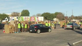 Distribution event held as food insecurity need, demand remains high