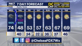 Noon weather forecast for December 30, 2020