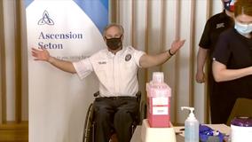 'It's that easy!' Texas Gov. Greg Abbott receives COVID-19 vaccine in Austin