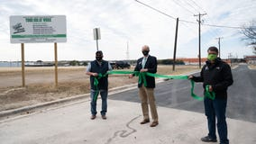 Reconstruction finished on first street in Taylor Streets Project