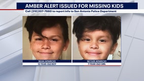 AMBER Alert issued for 12-year-old, 7-year-old in San Antonio