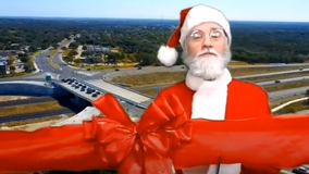 Santa cuts ribbon to mark completion of MoPac Intersections project