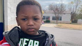 Boy, 2, abandoned at Mississippi Goodwill drop-off with extra clothes, note identified, suspect arrested