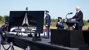 Pence announces Space Force bases, plans for honoring Chuck Yeager