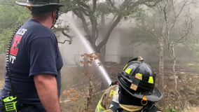 Owner of Spicewood home sees fire on security camera, calls 911
