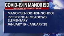 2 Manor ISD schools going 100% remote due to positive COVID-19 cases