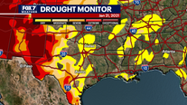Why is the U.S. experiencing record drought conditions?