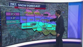 Evening weather forecast for January 9