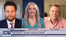 FOX 7 Discussion: President Trump impeached again